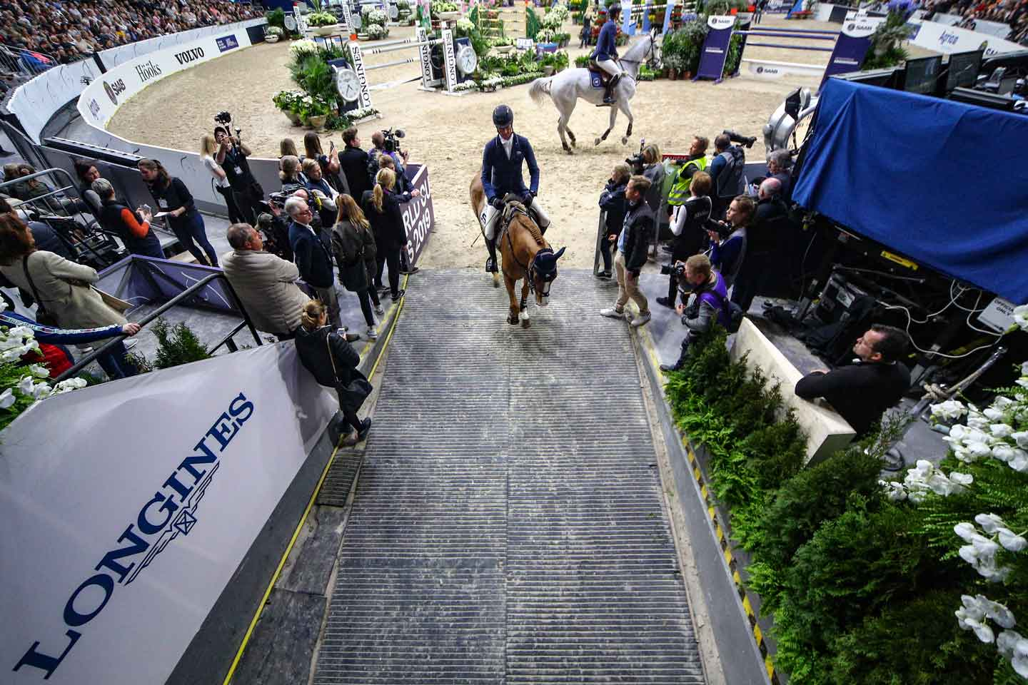 , Scuderia 1918 Horses in Göteborg for the Fei World Cup™ Show Jumping Final